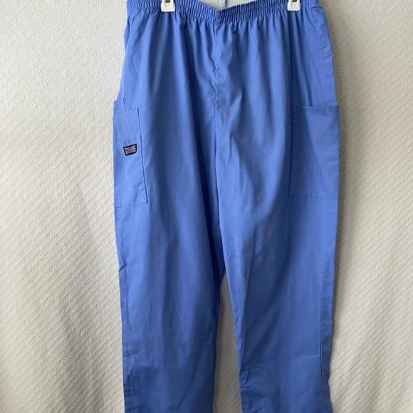 Euc Black Cherokee Workwear Scrub Pants Large!